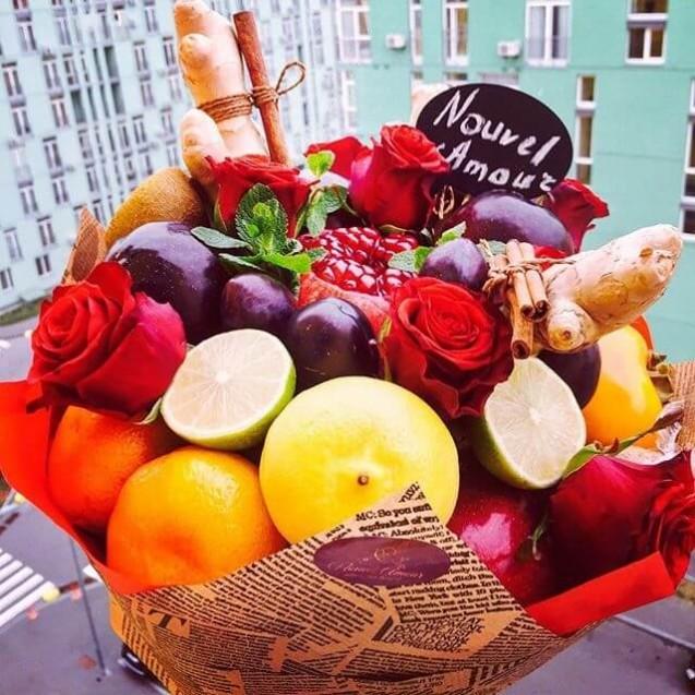 Букет из фруктов Premium